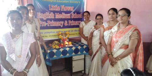 Celebration of Saraswati poojan1