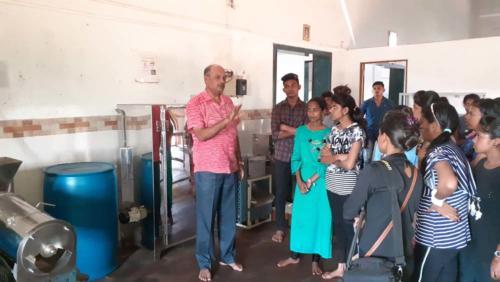 HSC Voc Visit toShirodkar TEJ Food Processing , MIDC Kudal