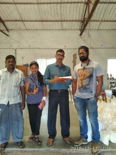 HSC Voc Visit to Dayasagar Agro Product - SONA, MIDC Kudal