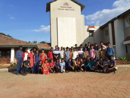 HSC Voc Visit to Sugarcane Breeding Centre, Amboli (stand 2nd in india)