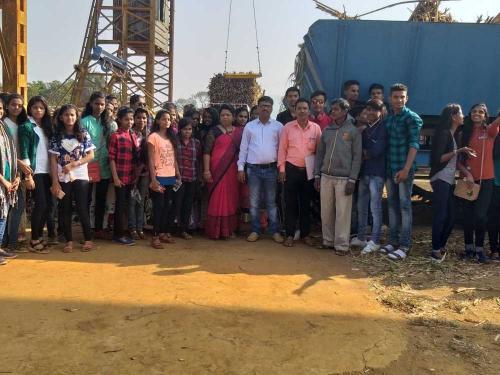Avinash Halve with NESP staff