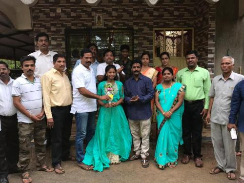 Congratulating Successful Students