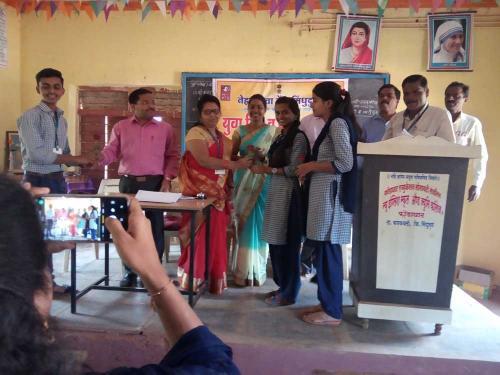 student Industrial visit of HSC Vocational