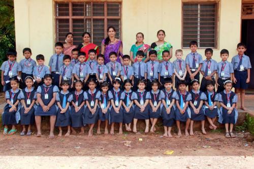 Students of Std I - II